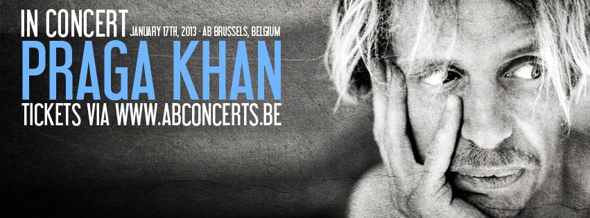 Praga Khan In Concert - 17/01/13